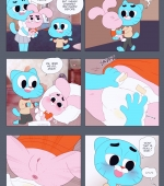 The Diaper Change porn comic page 01 on category The Amazing World of Gumball