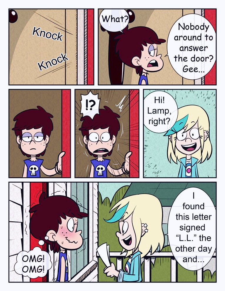 The Loud House - Roch Hard porn comic page 01 on category The Loud House