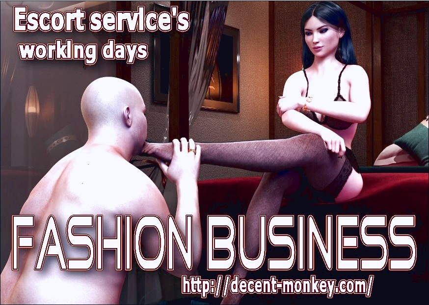 Fashion Business 3D porn comic page 001