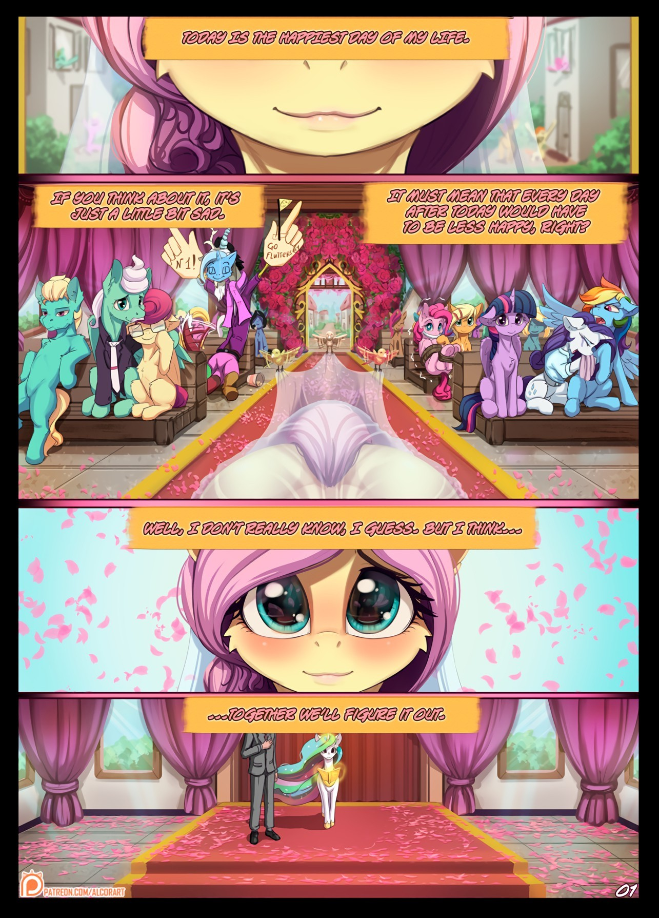 Hearts Aflutter porn comic page 01 on category My Little Pony