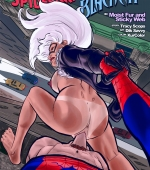 Moist Fur And Sticky Web porn comic page 01 on category Spider-Man