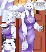 Toriel Comic porn comic page 01 on category Undertale