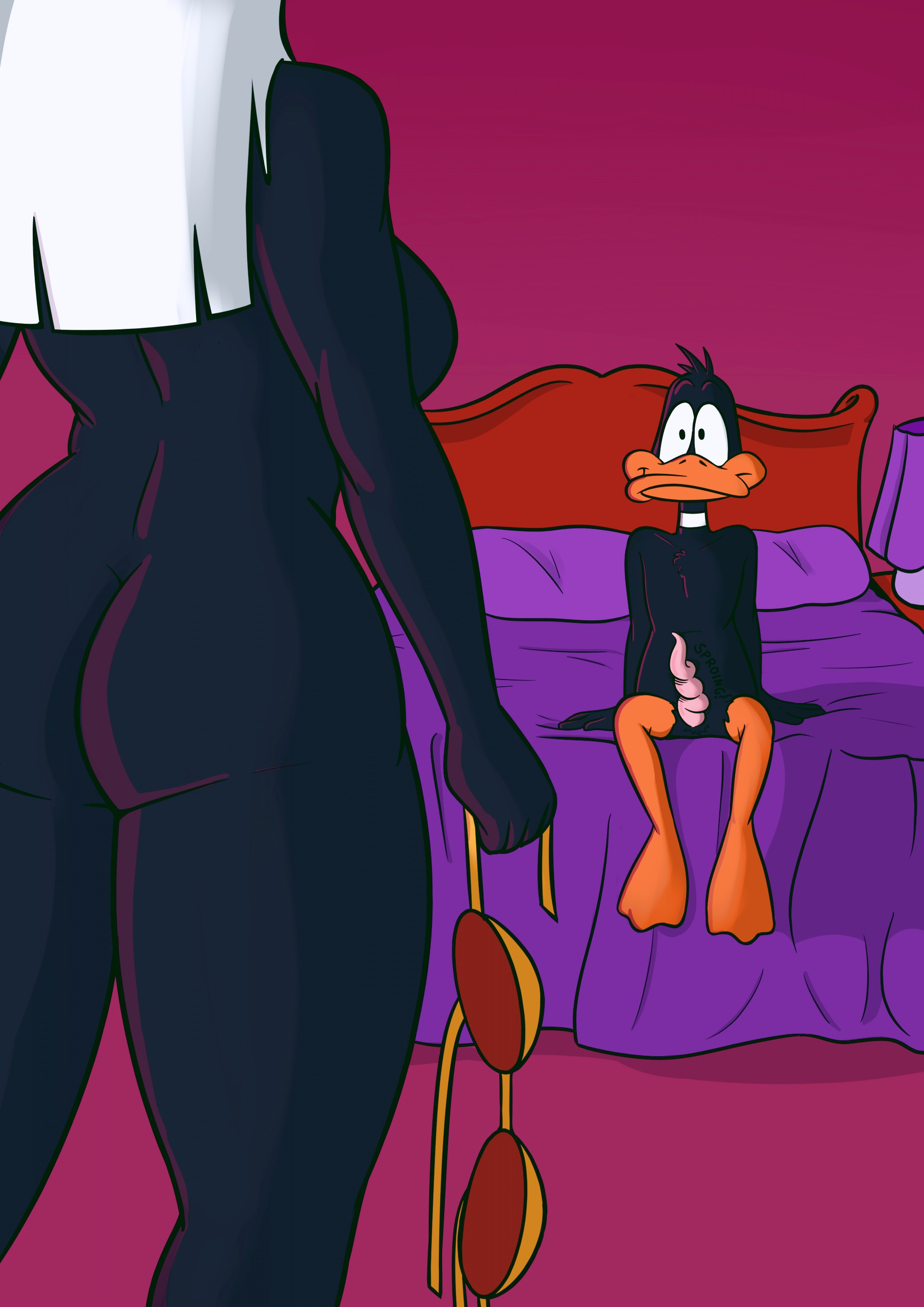 Duck Dodgers porn comic page 01 on category Looney Tunes