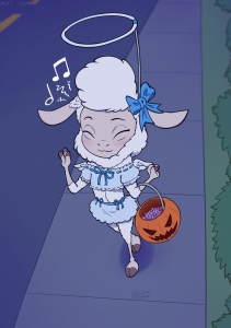Halloween Bell porn comic page 01 on category Zootopia
