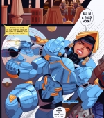 Target porn comic page 01 on category Overwatch