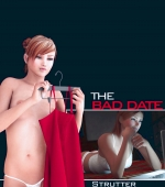 The Bad Date 3D porn comic page 01