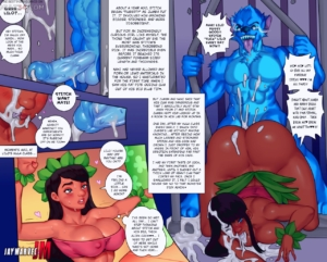 Lilo & Stitch porn comic page 01