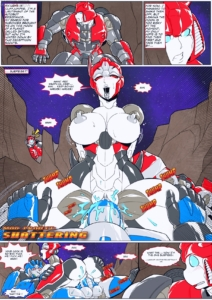 Shattering porn comic page 1 on category Transformers