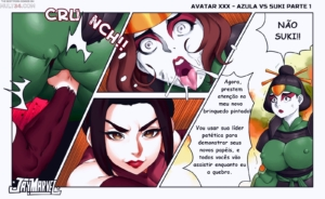 Avatar XXX porn comic page 1 on category Avatar: The Last Airbender