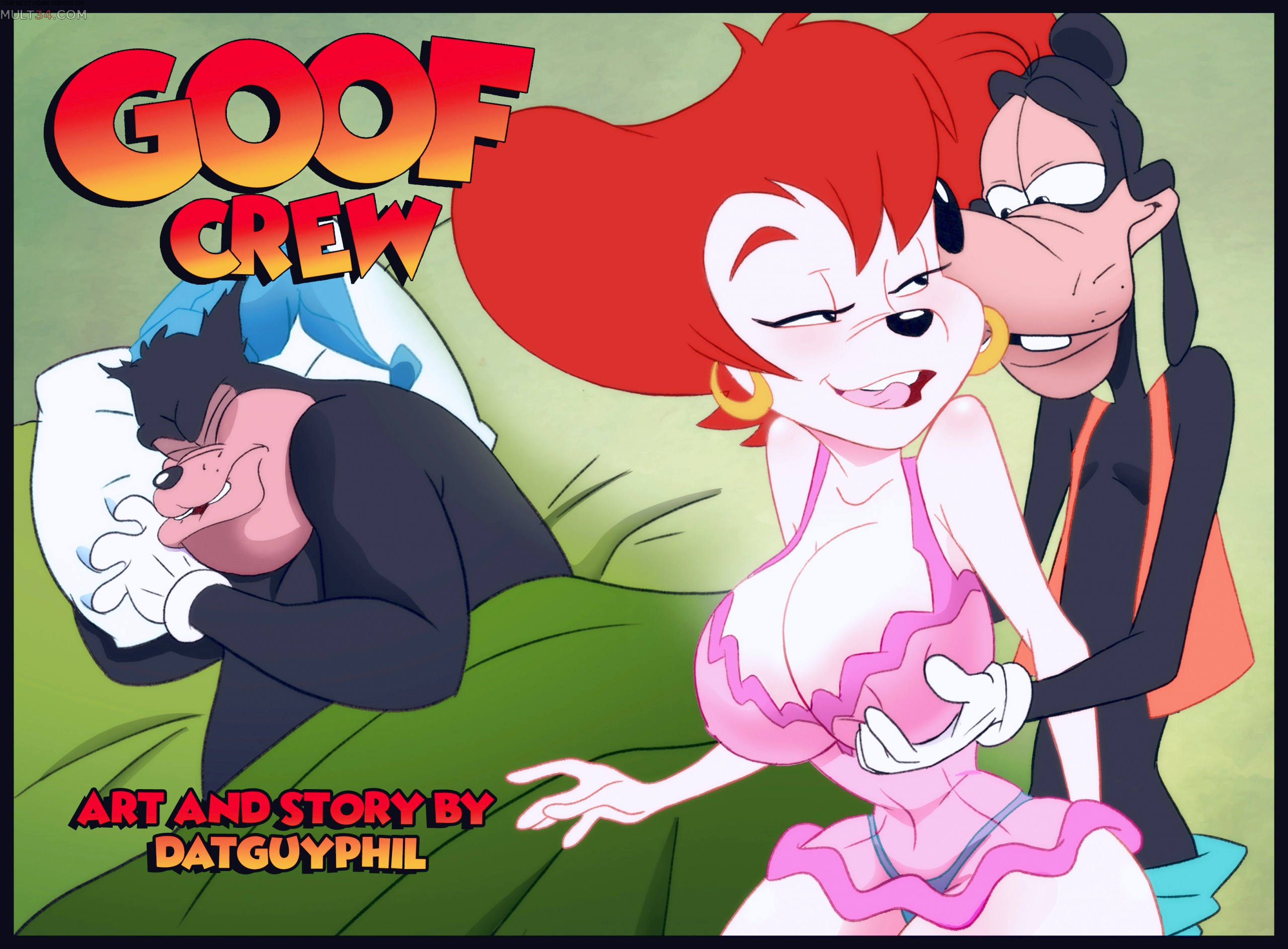 Goof Crew porn comic page 1 on category Goof Troop