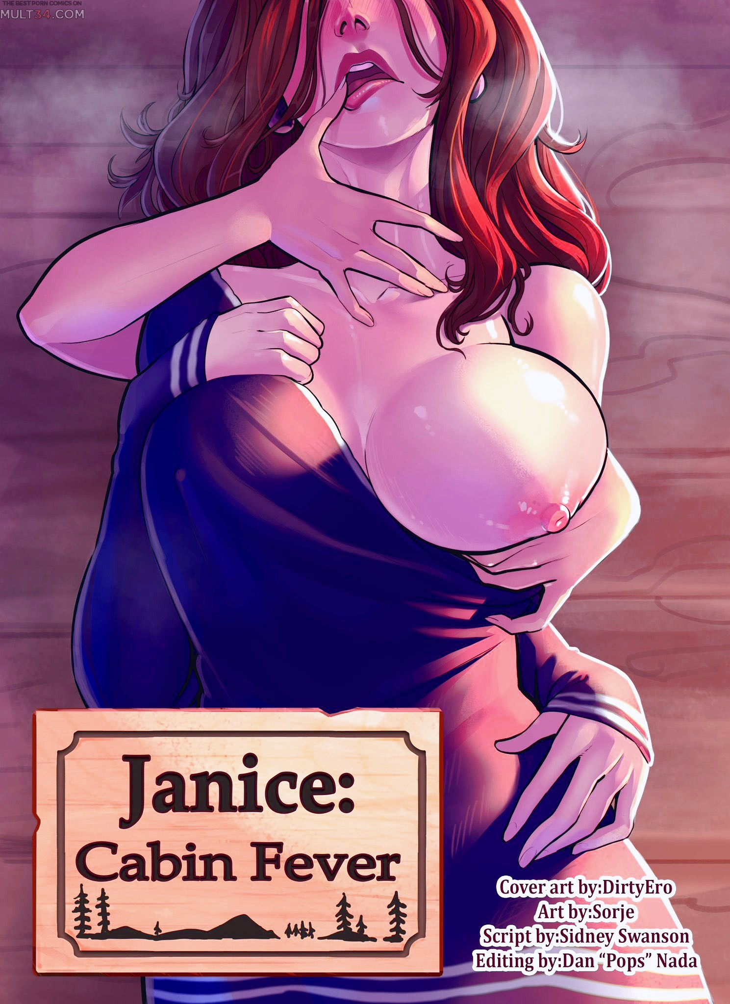 Janice Cabin Fever porn comic page 1