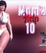 Mom's Help 10 3D porn comic page 1