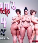 Mom's Help 14 3D porn comic page 1
