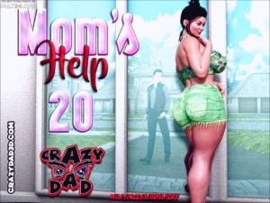 Mom's Help 20 3D porn comic page 1