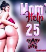 Mom's Help 25 3D porn comic page 1