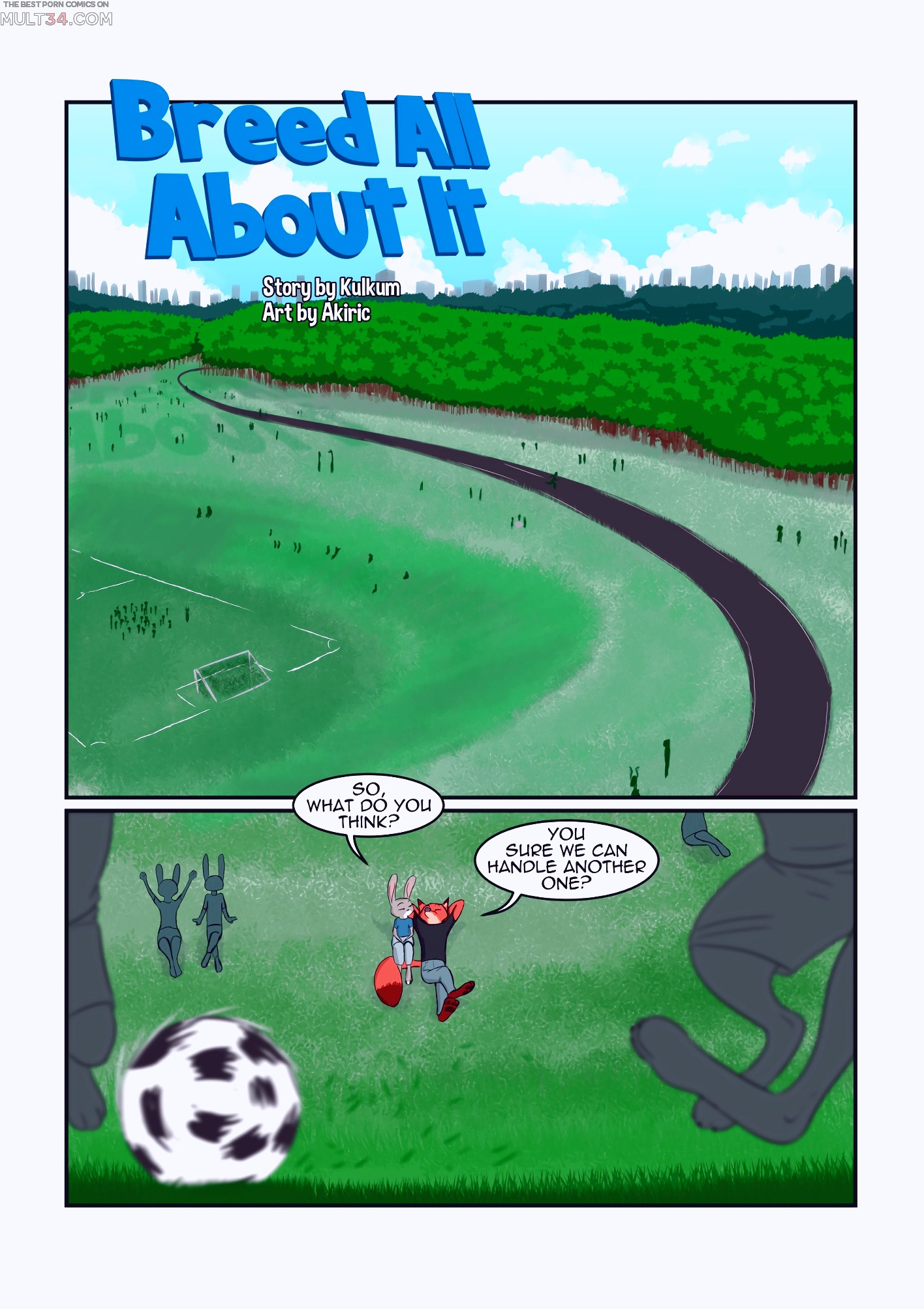 Breed All About It porn comic page 1 on category Zootopia