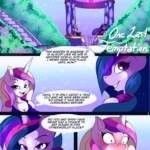 One Last Temptation porn comic page 1 on category My Little Pony