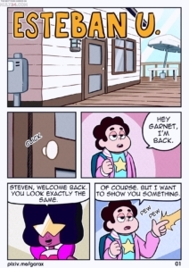 Esteban U. porn comic page 1 on category Steven Universe