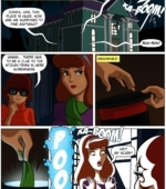 Scooby Doo and the Haunted Hat porn comic page 1