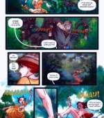 The Legend of the White Ape and the Snake porn comic page 1 on category Tarzan
