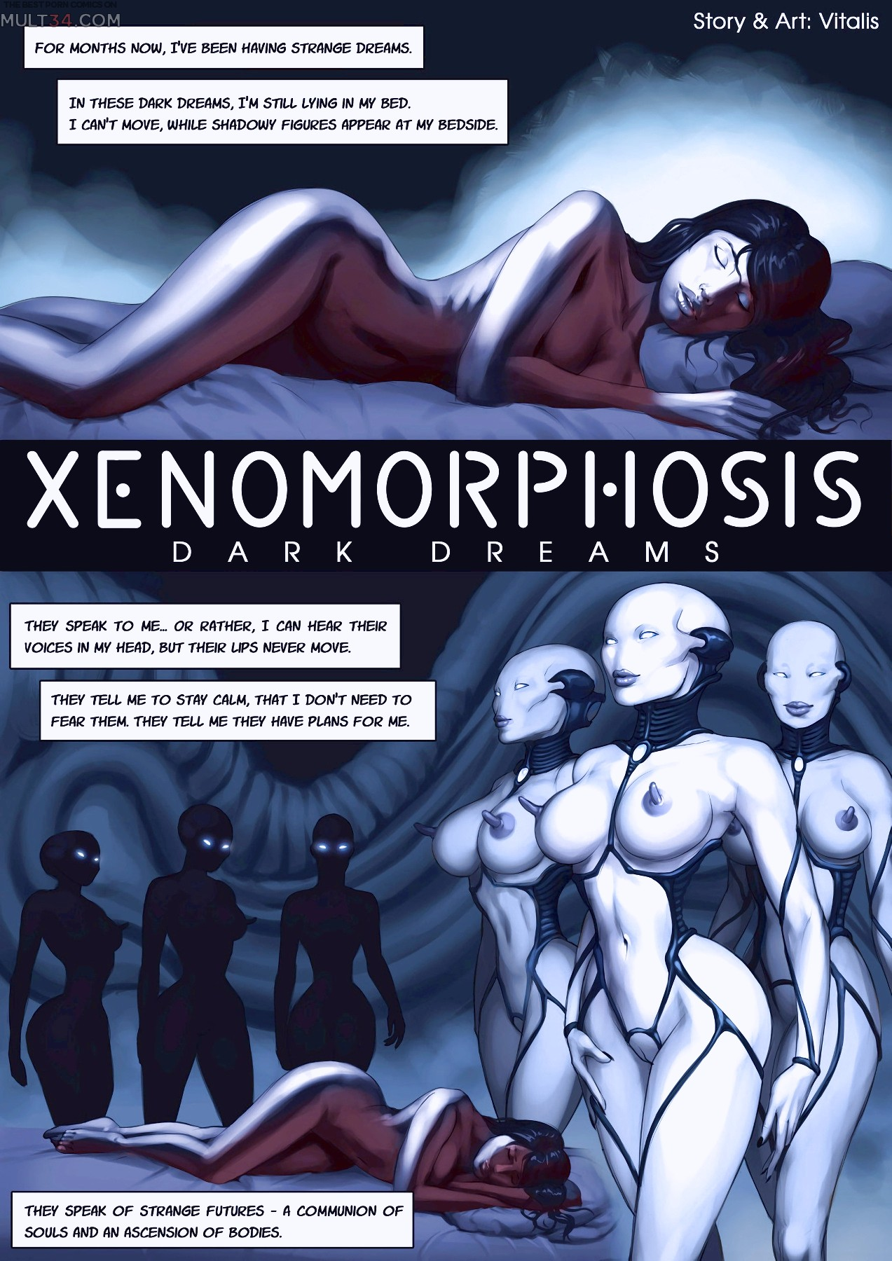 Xenomorphosis Dark Dreams porn comic page 1