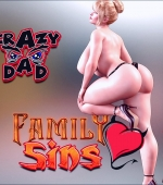 Family Sins 13 3D porn comic page 1